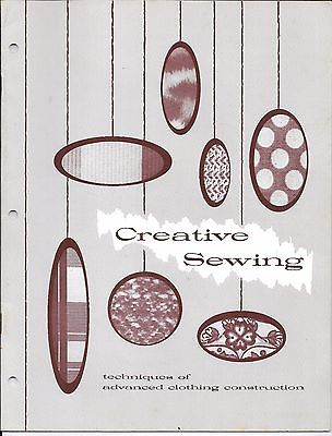 October 1970, CREATIVE SEWING, Clemson University Advanced Clothing Construction