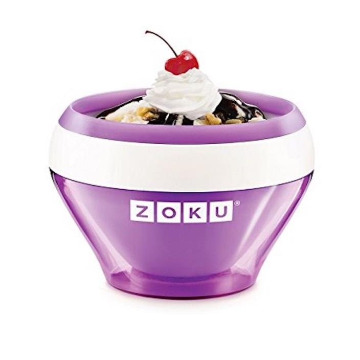NIB Zoku Purple Instant Ice Cream Maker BRAND NEW $10