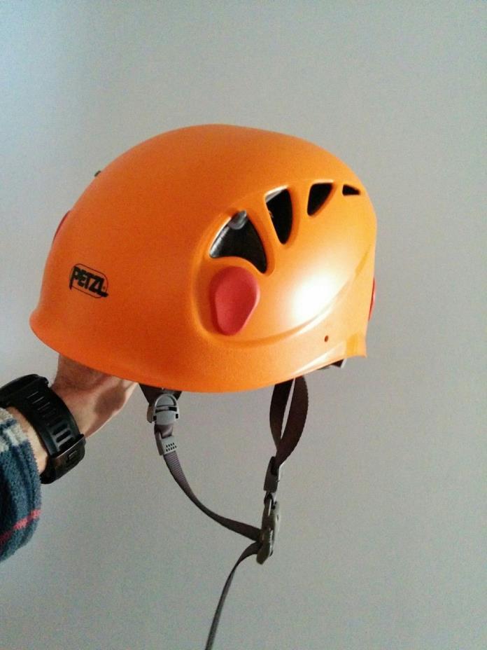 Petzl Elios Helmet - Climbing Caving Rescue Tower, Orange, Size 2