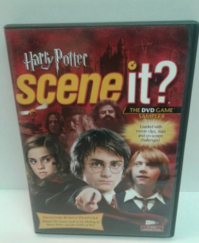 Harry Potter Scene It? The DVD Game Sampler