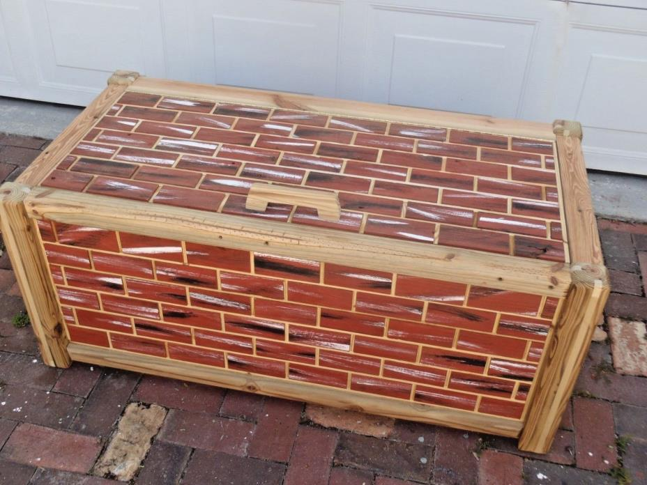 Handcrafted blanket/toy box