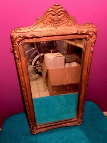 Wall Mirror Rococo Style Ornate Gold Gilt Gesso Wood Frame Hires Turner Antique