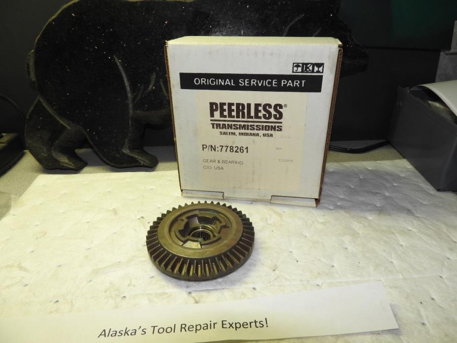 Tecumseh 778261 Bevel Gear and Bearing
