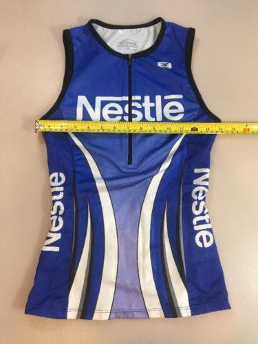Sugoi Nestle Womens Triathlon Tank Top Size Medium M (5504)
