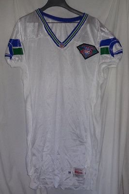 1993 Seattle Seahawks 75th Anniversary Team Issued Game Jersey Sz 48