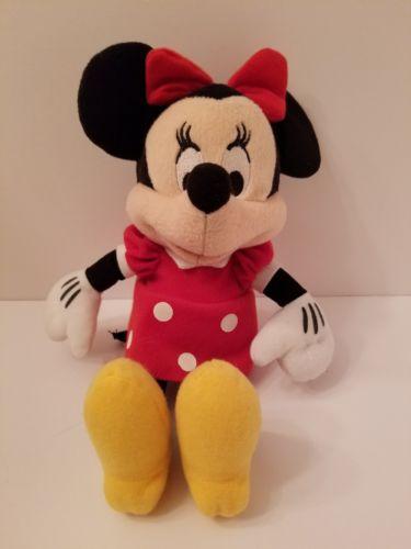 Disney Minnie Mouse Plush 11 Inch Stuffed Toy
