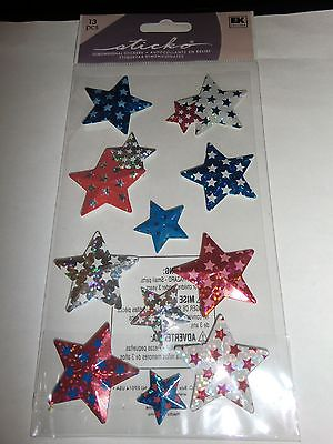 patriotic star stickers and plastic bears