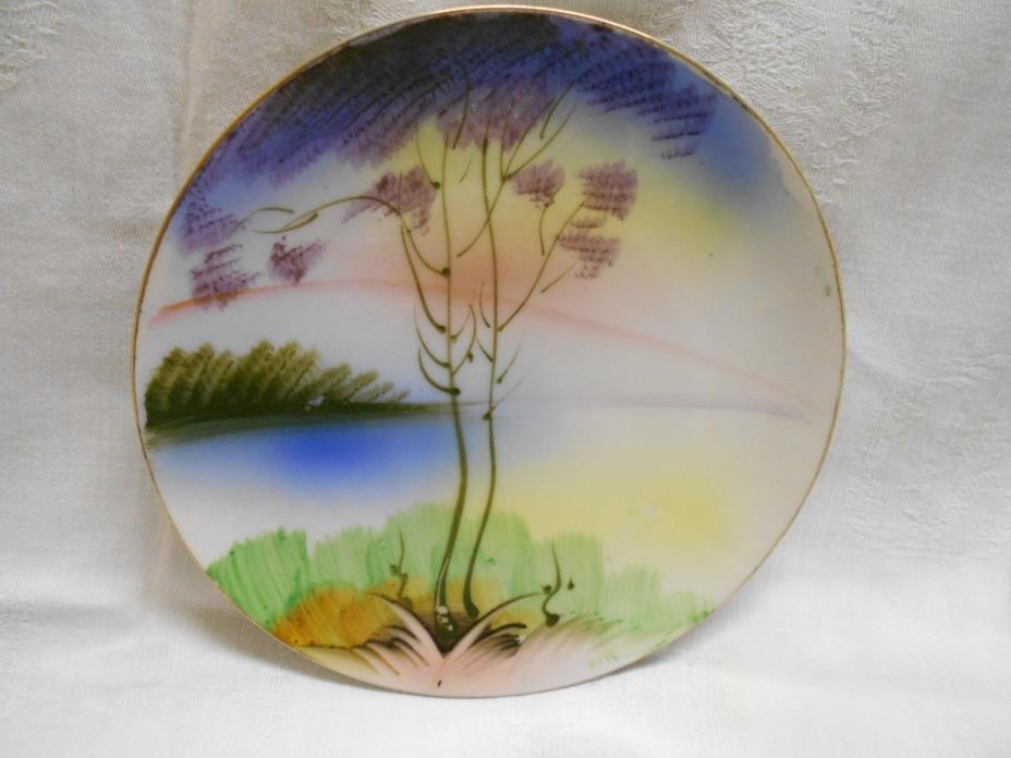 vintage decorative Japan plate 6
