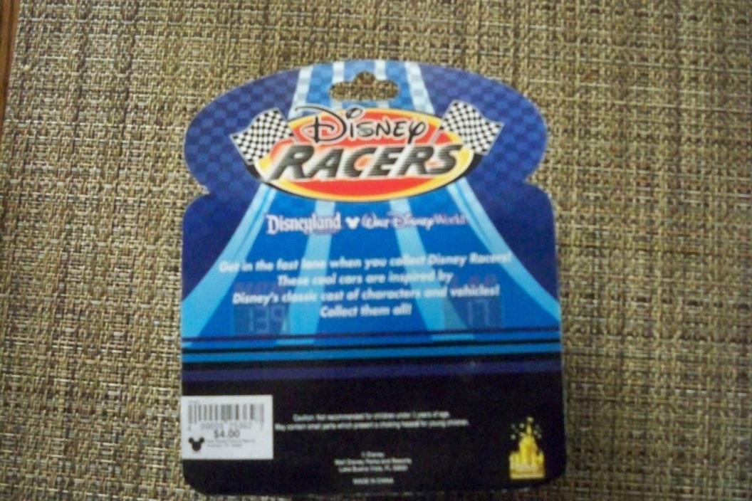 Disney Racer    GOOFY  Die Cast Metal Body Race  Car        FREE SHIPPING   6439