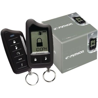 PYTHON 5706P Responder(TM) LC3 SST 2-Way Security/Remote-Start System with 1-Mil