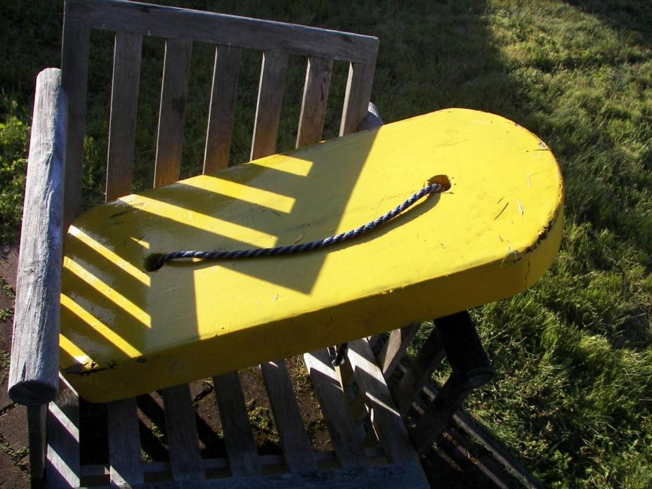Vintage Float For Scuba Diving, Tuna, Grouper, Spearfishing, Hard Buoy