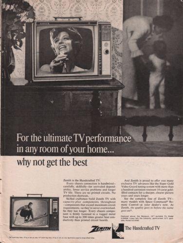 1966 Zenith TV Westport & 19