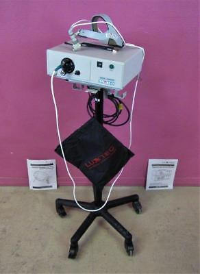 Luxtec Ultralite Surgical Headlight 9300 XSP 300W Xenon Light Source & Stand