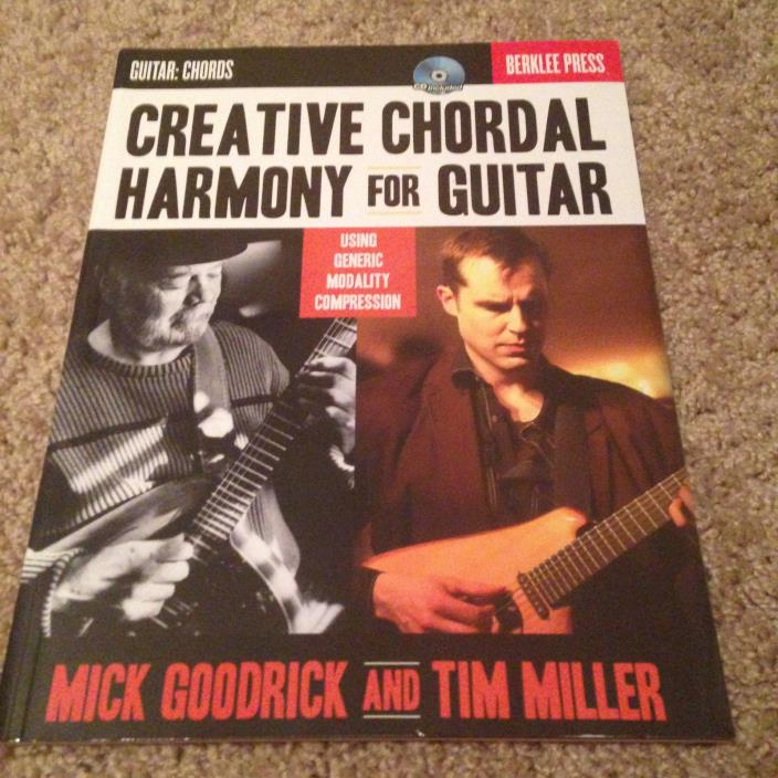 Creative Chordal Harmony For Guitar with CD