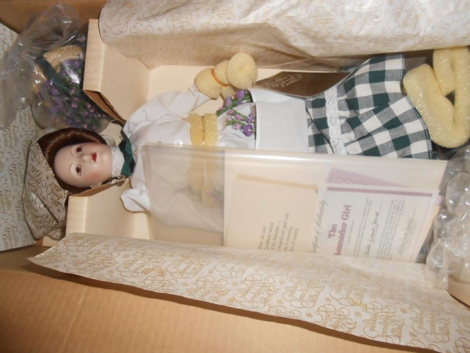 FRANKLIN MINT THE GIBSON GIRL THE LAVENDER GIRL Doll