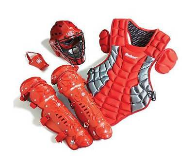 Youth Catcher's Gear Set in Scarlet [ID 3477566]
