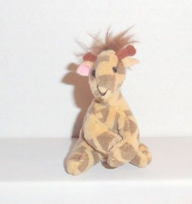 Only Hearts Club Pets Giraffe Plush STRETCH Mini Pet Animal