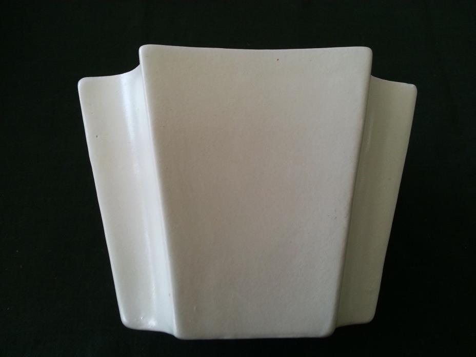 Haeger Pottery #3786 Matte Off White/Creme 6 7/8