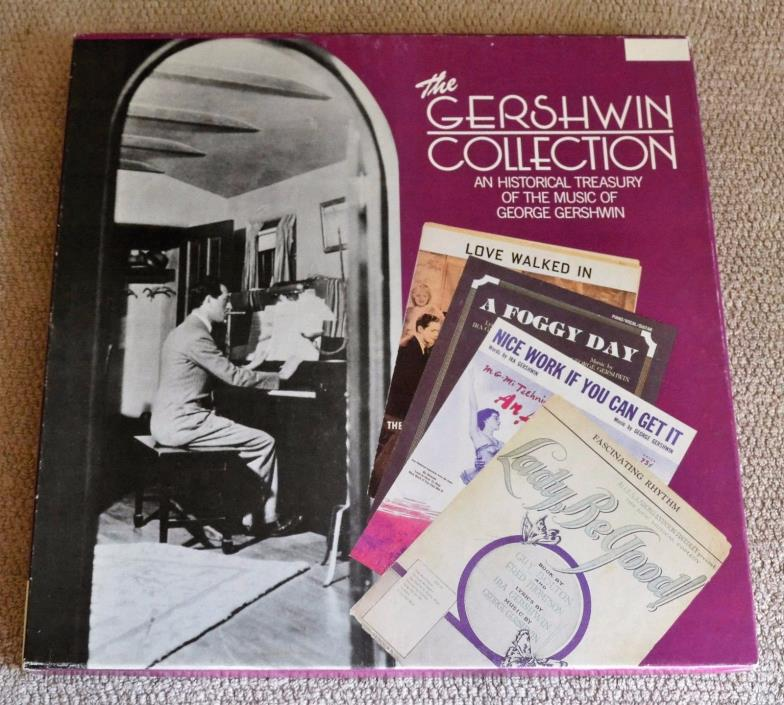 The Gershwin Collection Historical Treasury/1987 Teledisc Music 3-Cassette Tapes