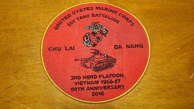 UNITED STATES MARINE CORPS 1ST TANK BATTALION DA NANG CHU LA VIETNAM WAR ANNIVER