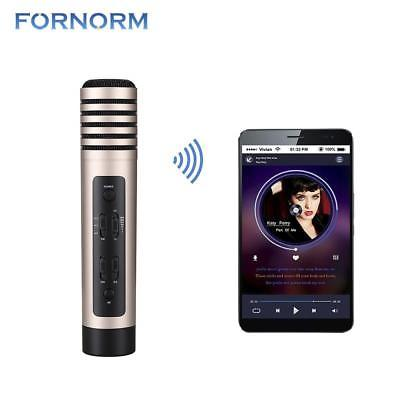 Wireless Karaoke Microphone Handheld Microphone Bluetooth Car Smartphone Speaker