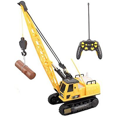 Rc Construction Crane Entertainment Toys For Kids High Frequency Full