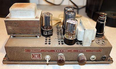 Bell & Howell Filmosound 179 No.14027 6V6 Tube Guitar Harp Amplifier 15 Watts