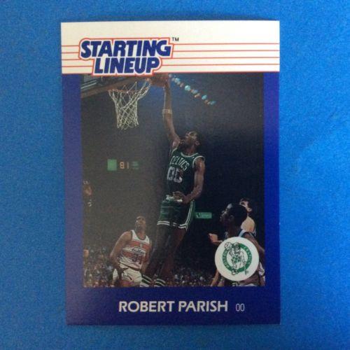 1988 Kenner Starting Lineup Card Robert Parish.