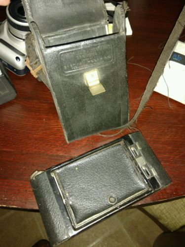OLD 1917 NO 2 KODAK FOLDING AUTOGRAPHIC BROWNIE CAMERA