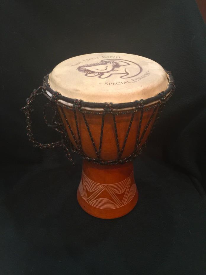 RARE Lion King special edition promo bongo Drum