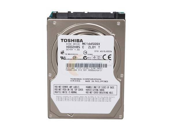 SATA HDD 320 Gb from Dell Inspiron 9400 Win7