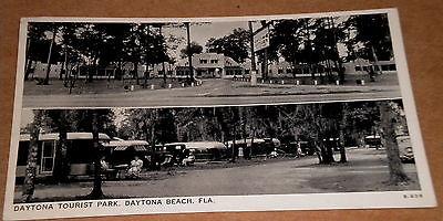1938 Daytona Tourist Park Trailer & Travel Cabin Camp Daytona Beach Florida