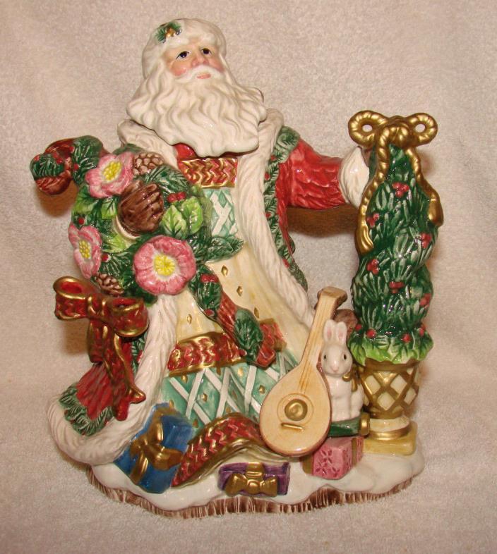Fitz & Floyd Renaissance Santa Teapot
