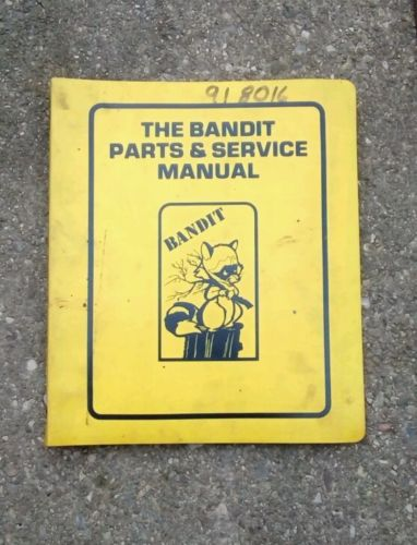 Bandit Brush Chippers 100 200 1200 Owner Parts Manual