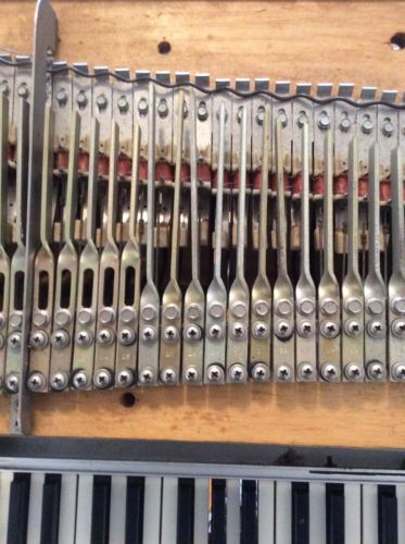 Fender Rhodes Piano Tonebars And Tines/harp