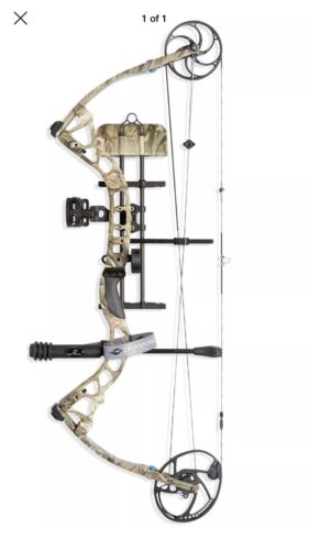 Diamond Archery Provider Bow Package, Mossy Oak Country, Right Hand