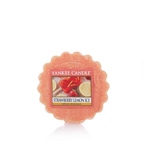 Yankee Candle Strawberry Lemon Ice Set of 6 Tarts Melts