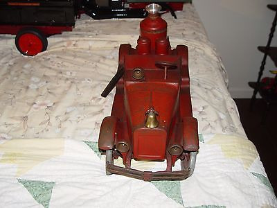 buddy L# 205 pumping engine pressed steel fire truck with  working pump