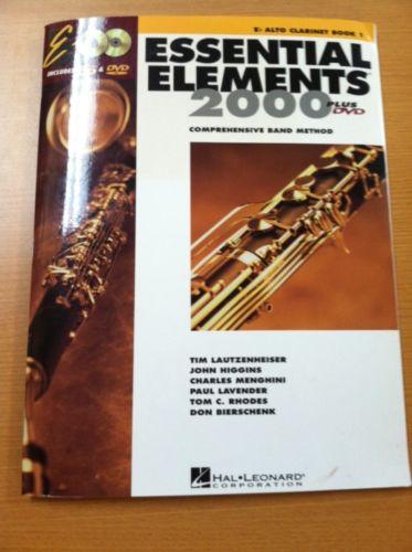 Essential Elements Eb ALTO Clarinet Book 1
