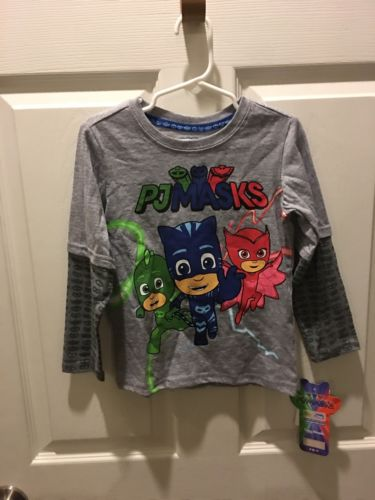 Toddler Boys PJ Masks Sz 4T Nwt