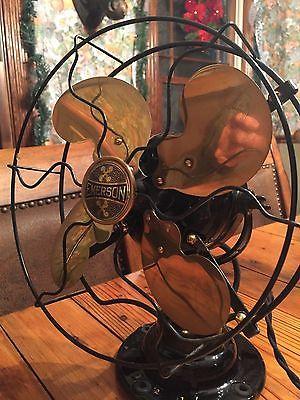 Antique Emerson 19645 Electric Fan