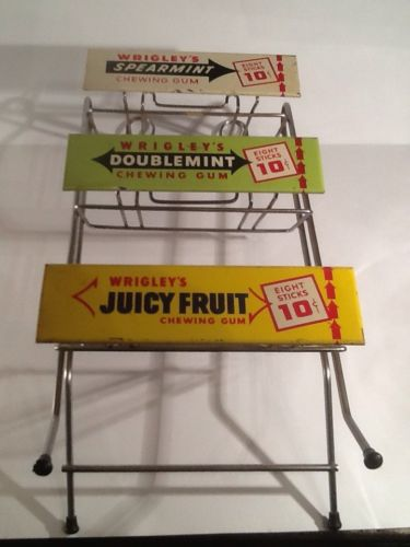 Wrigley's Gum 1960's Counter Display Stand
