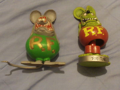 BIG DADDY ED ROTH RAT FINK FIGURES