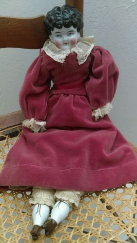 Antique China Head Doll Civil War Era