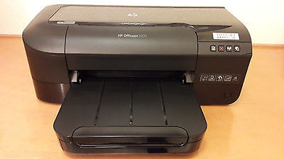 HP OfficeJet 6100 e Printer Wireless Color Photo Printer In Excellent COnditions