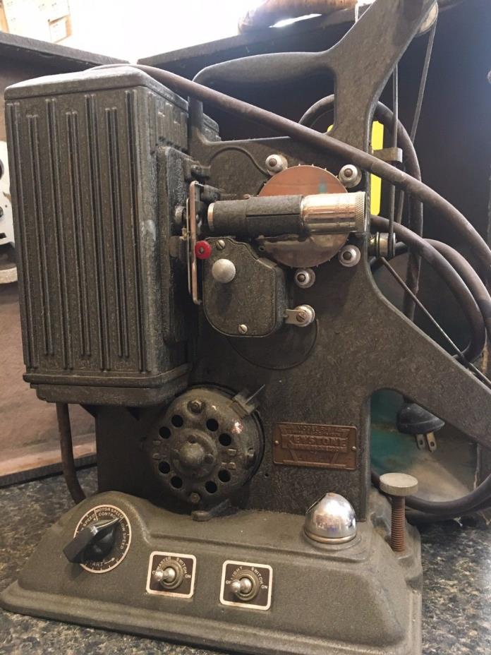Keystone 1939 8mm Projector