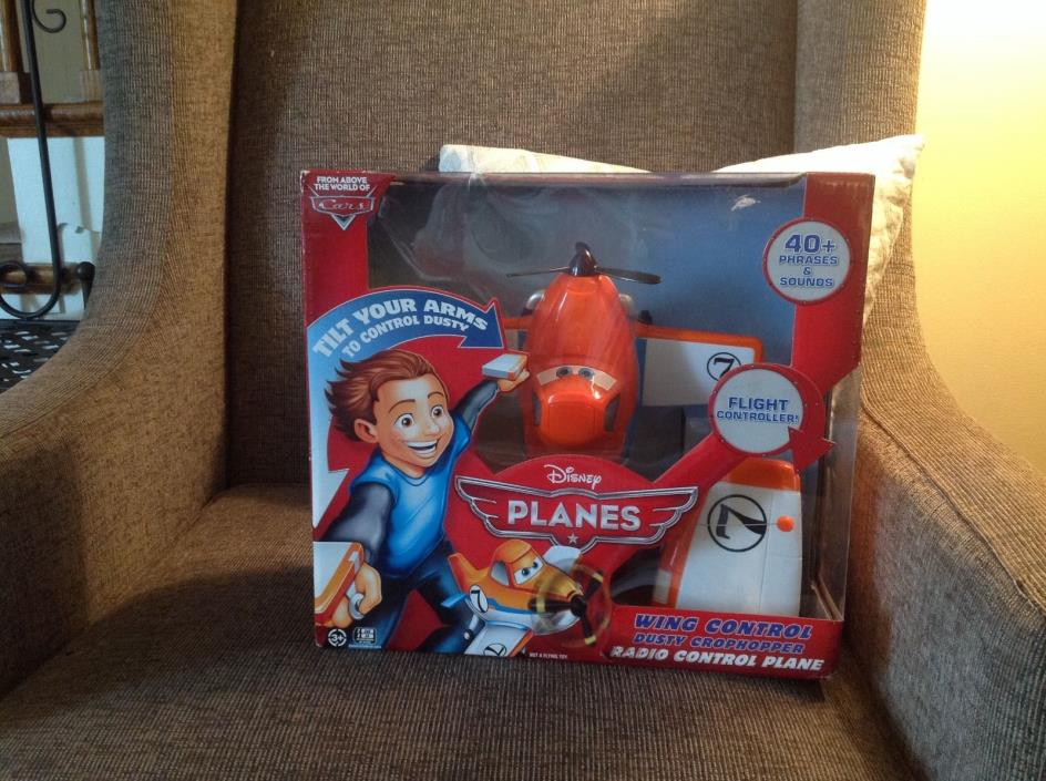 NEW in Box! Disney Planes Dusty Crophopper Wing Control radio remote control