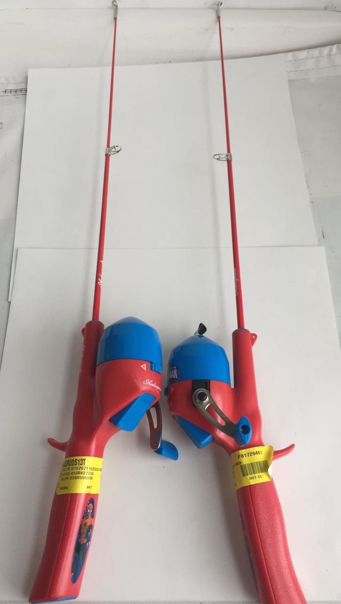 Shakespeare casting rod for sale classifieds for Spiderman fishing pole