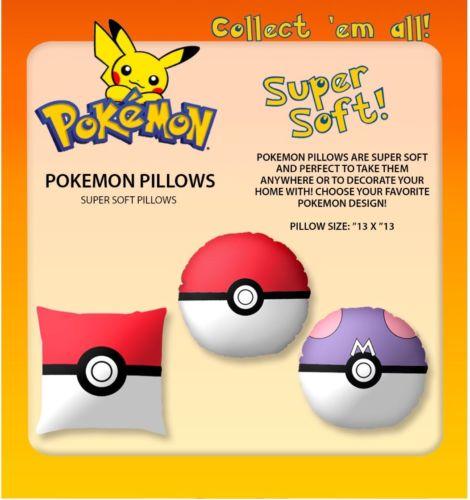 Pokemon Pillow Wholesale Lot 36 Pcs Ships From USA Best Seller Hot!