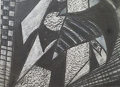Enrique Grau - Charcoal drawing - 1959
